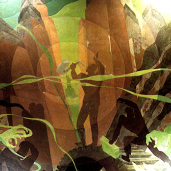 Aaron Douglas Aspects Of Negro Life Aspects of Negro Life Song of