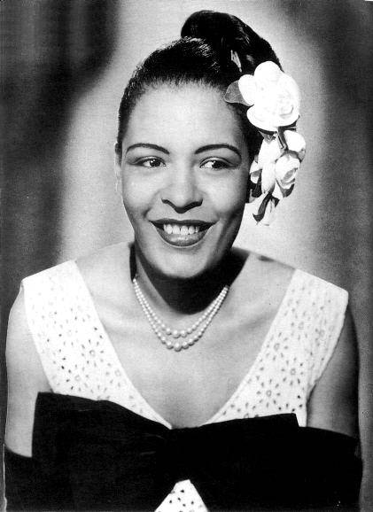 billy holiday cartoon
