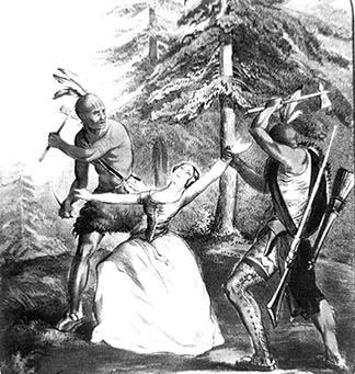 Savages settlers torture natives ass girls