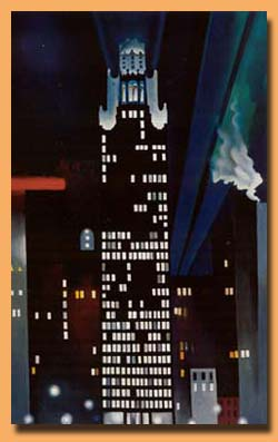 Image result for painting of new york okeefe