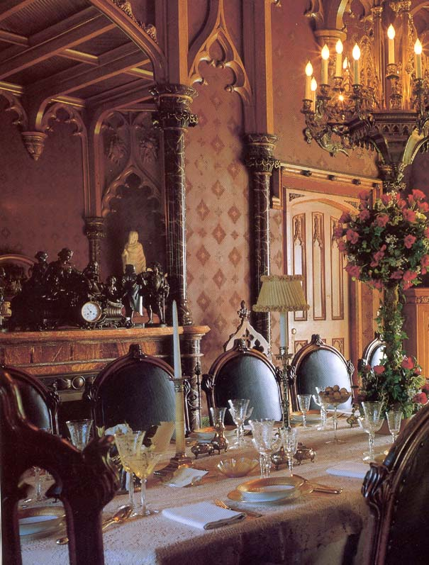 gothic dining room gothic