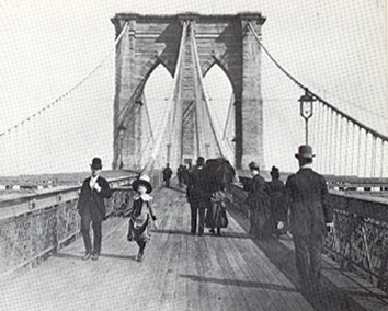 brooklyn bridge thesis statement The brooklyn bridge is a hybrid cable-stayed/suspension bridge in new york city and is one of the oldest roadway this was not an anti-american statement, wermke.