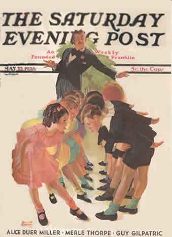 SATURDAY EVENING POST;MAY 9,1931;AUBURN,CHRYSLER,CADILLAC,PACKARD ADS