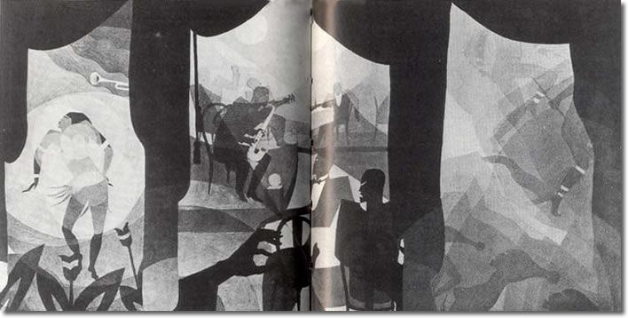 Aaron Douglas, Dance Magic , 1930