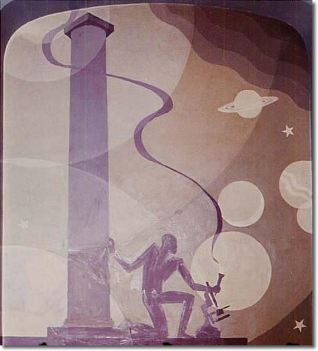 Aaron Douglas, Science , Symbolic Negro History Series, 1930.