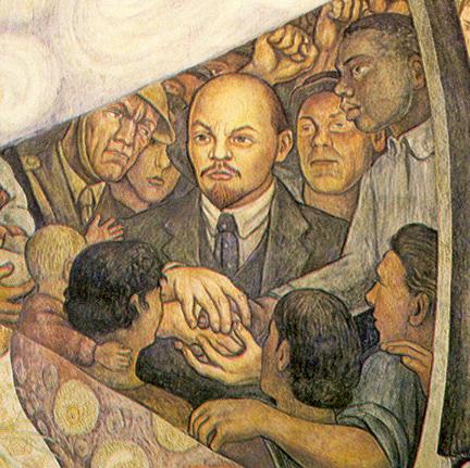 Mural lenin for Diego rivera lenin mural