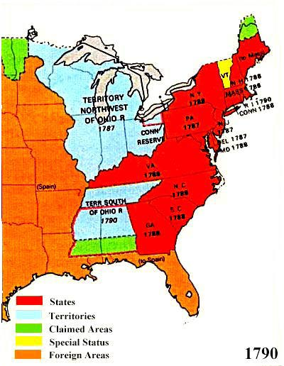 Us Territorial Maps Map Of The Us In 1790