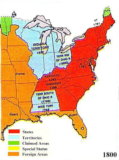 US Territorial Maps - Us indian territory 1800s map