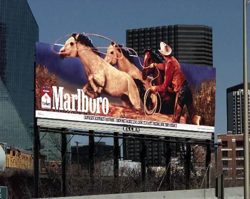 smoking ads. cigarette advertising