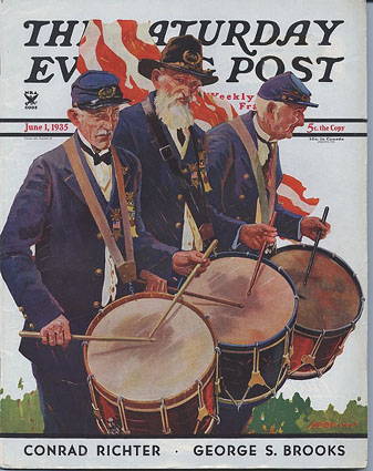 Saturday Evening Post June 1, 1935.