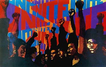 Black Power Movement Paintings