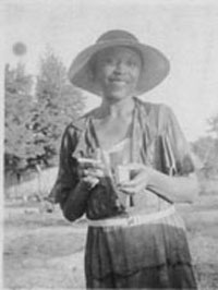 Zora Neale Hurston's Mules and Men and E-Project